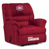 Montreal Canadiens Big Daddy Recliner