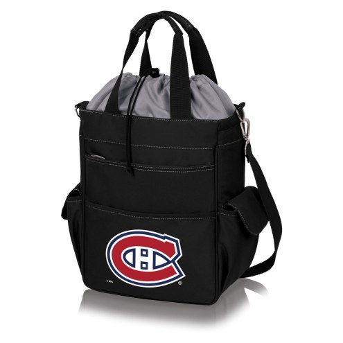 Montreal Canadiens Black Activo Cooler Tote