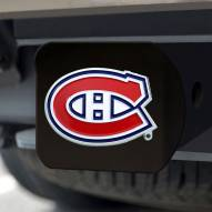 Montreal Canadiens Black Color Hitch Cover