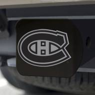 Montreal Canadiens Black Matte Hitch Cover