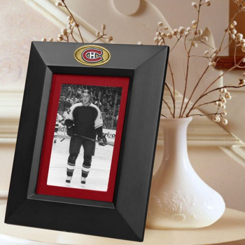 Montreal Canadiens Black Picture Frame