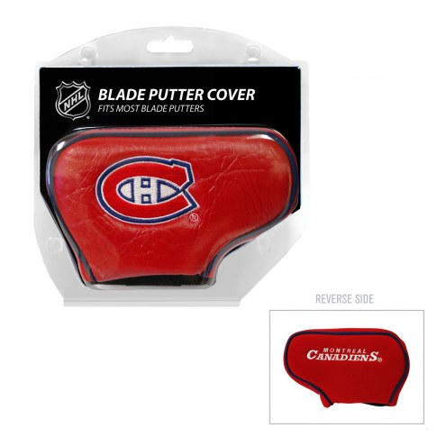 Montreal Canadiens Blade Putter Headcover