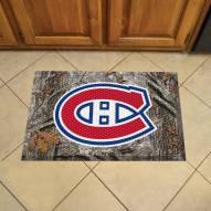 Montreal Canadiens Camo Scraper Door Mat
