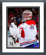 Montreal Canadiens Carey Price Action Framed Photo