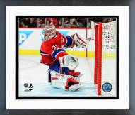 Montreal Canadiens Carey Price Playoff Action Framed Photo
