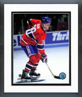 Montreal Canadiens Chris Nilan Action Framed Photo