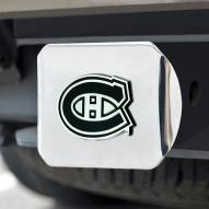 Montreal Canadiens Chrome Metal Hitch Cover
