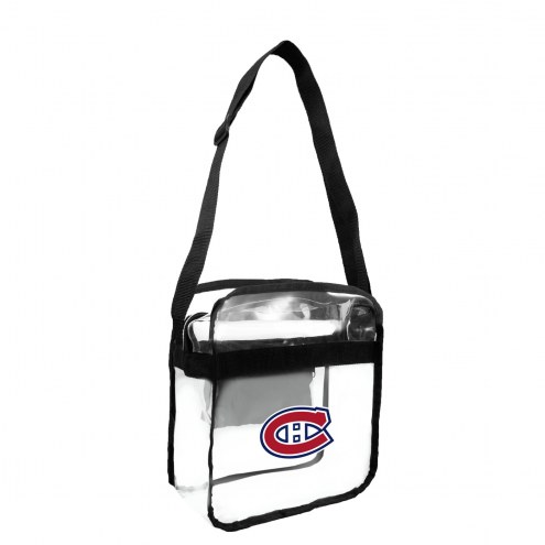 Montreal Canadiens Clear Crossbody Carry-All Bag
