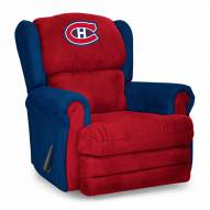 Montreal Canadiens Coach Recliner