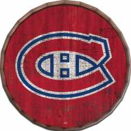 "Montreal Canadiens Cracked Color 16"" Barrel Top"