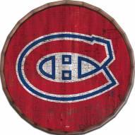 "Montreal Canadiens Cracked Color 24"" Barrel Top"
