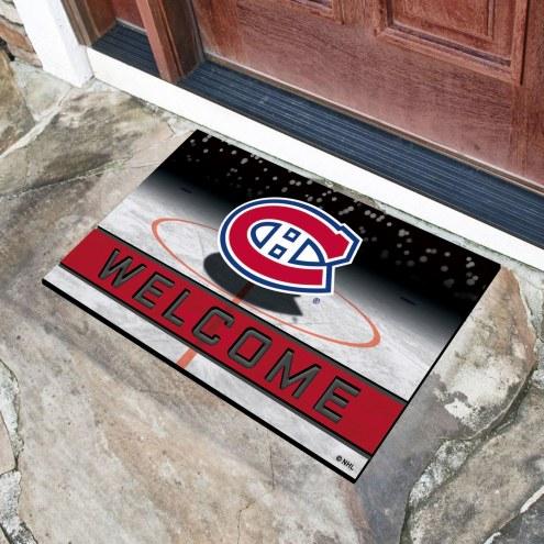 Montreal Canadiens Crumb Rubber Door Mat
