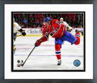 Montreal Canadiens Dale Weise Action Framed Photo