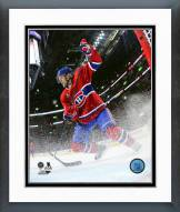 Montreal Canadiens Dale Weise Playoff Action Framed Photo