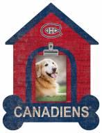 Montreal Canadiens Dog Bone House Clip Frame