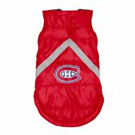 Montreal Canadiens Dog Puffer Vest