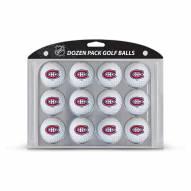 Montreal Canadiens Dozen Golf Balls