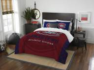 Montreal Canadiens Draft Full/Queen Comforter Set