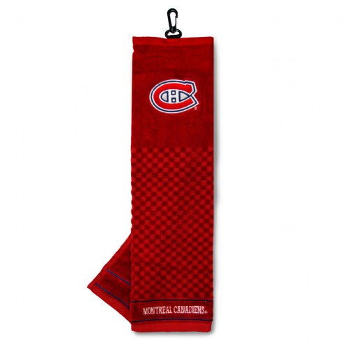 Montreal Canadiens Embroidered Golf Towel