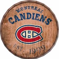 "Montreal Canadiens Established Date 16"" Barrel Top"
