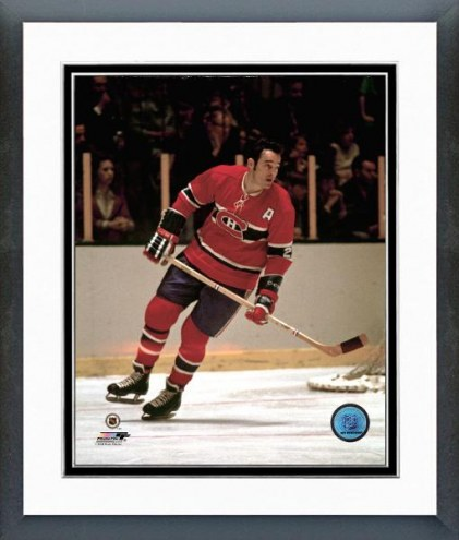 Montreal Canadiens Frank Mahovlich Action Framed Photo