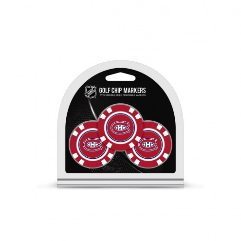 Montreal Canadiens Golf Chip Ball Markers
