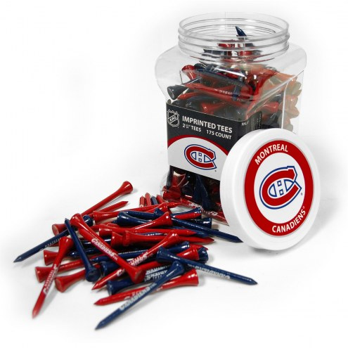 Montreal Canadiens 175 Golf Tee Jar