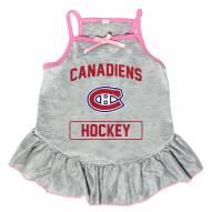 Montreal Canadiens Gray Dog Dress