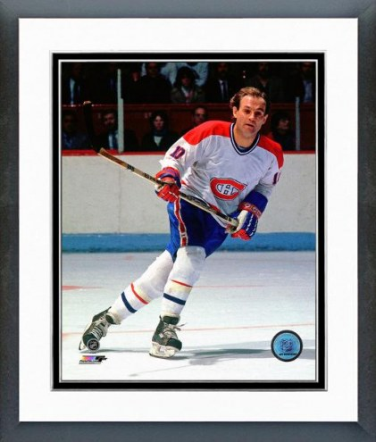 Montreal Canadiens Guy Lafleur Action Framed Photo