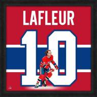 Montreal Canadiens Guy Lafleur Uniframe Framed Jersey Photo