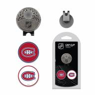 Montreal Canadiens Hat Clip & Marker Set