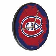 Montreal Canadiens Digitally Printed Wood Clock