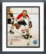 Montreal Canadiens Henri Richard Action Framed Photo