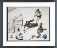 Montreal Canadiens Henri Richard & Maurice Richard Framed Photo