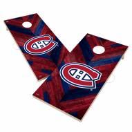 Montreal Canadiens Herringbone Cornhole Game Set