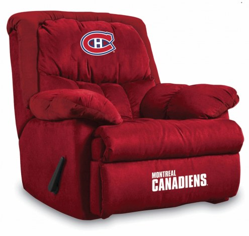 Montreal Canadiens Home Team Recliner