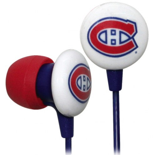 Montreal Canadiens iHip Earbuds