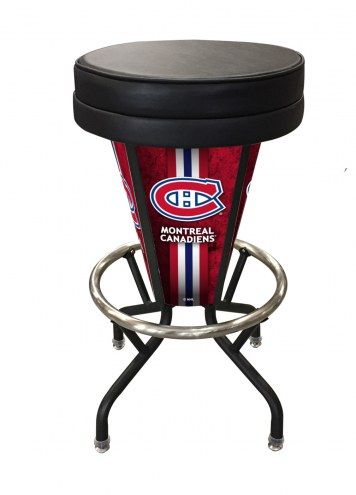 Montreal Canadiens Indoor Lighted Bar Stool