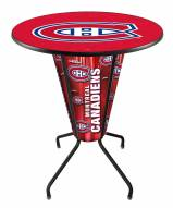 Montreal Canadiens Indoor Lighted Pub Table