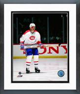 Montreal Canadiens John Leclair Action Framed Photo