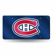 Montreal Canadiens Laser Cut License Plate