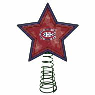 Montreal Canadiens Light Up Art Glass Mosaic Tree Topper