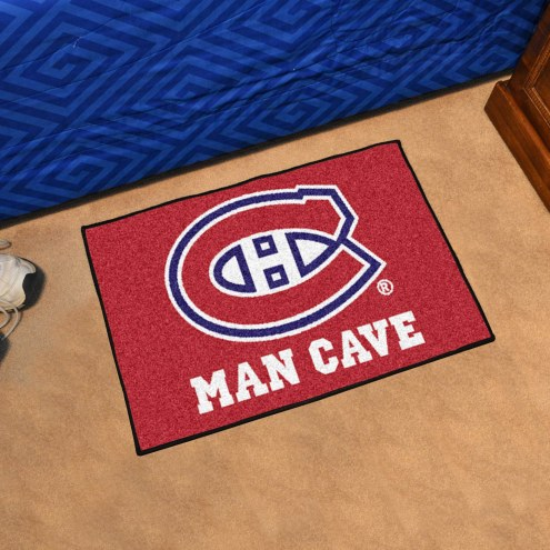 Montreal Canadiens Man Cave Starter Mat