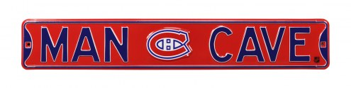 Montreal Canadiens Man Cave Street Sign