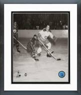 Montreal Canadiens Maurice Richard Action Framed Photo
