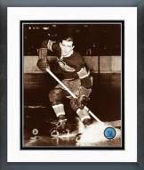 Montreal Canadiens Maurice Richard Posed Framed Photo