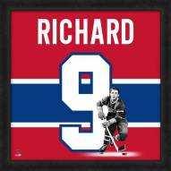 Montreal Canadiens Maurice Richard Uniframe Framed Jersey Photo