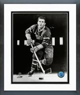 """Montreal Canadiens Maurice """"Rocket"""" Richard Posed Framed Photo"""