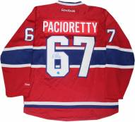 Montreal Canadiens Max Pacioretty Signed Reebok Premier Hockey Jersey