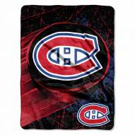 Montreal Canadiens Micro Ice Dash Blanket